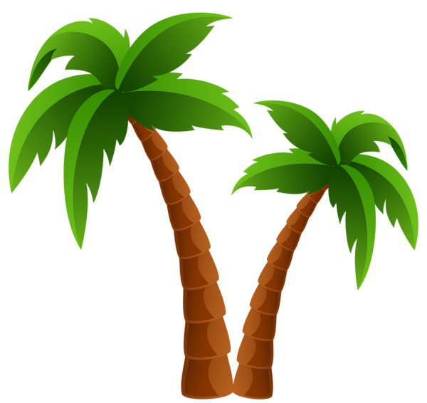 Pine Tree clipart two tree Trees Clipart Image Palm Two
