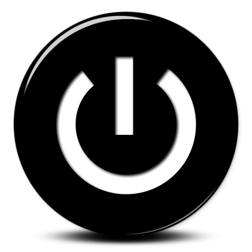 Shutdown Button clipart PNG Power Button and Button