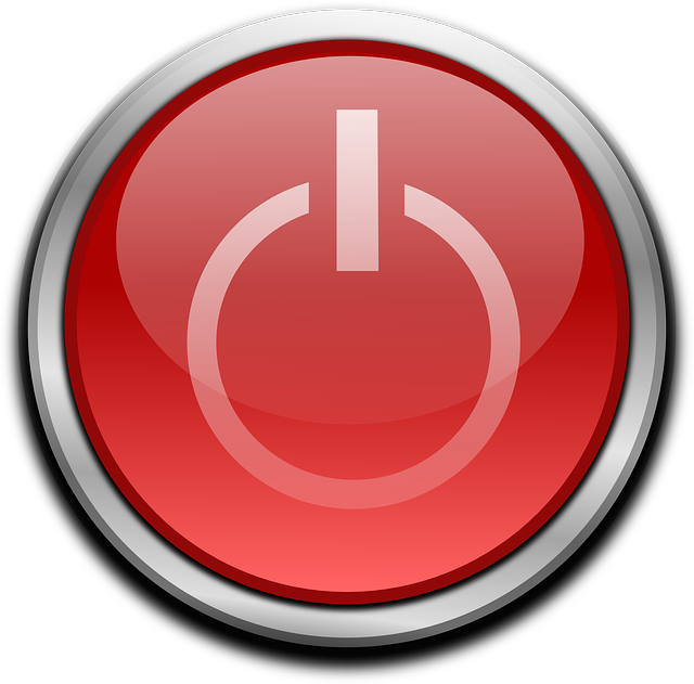 Shutdown Button clipart To Shutdown 8 How Computer