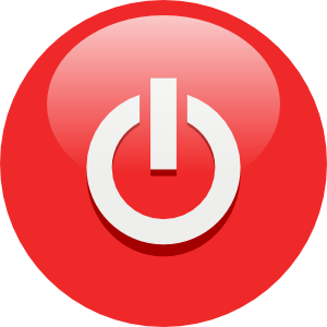 Shutdown Button clipart Windows 7 Support Windows ~