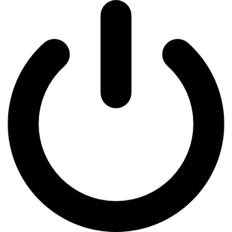 Shutdown Button clipart botton #10