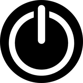Shutdown Button clipart botton #4