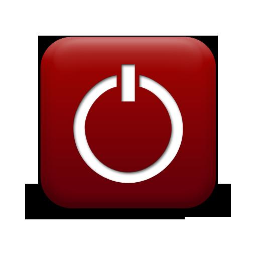 Shutdown Button clipart botton #7