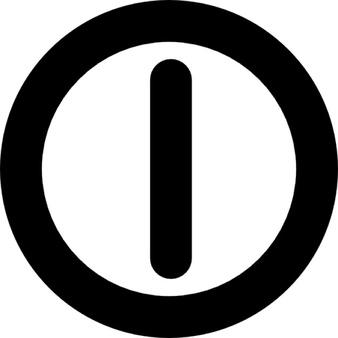 Shutdown Button clipart botton #6