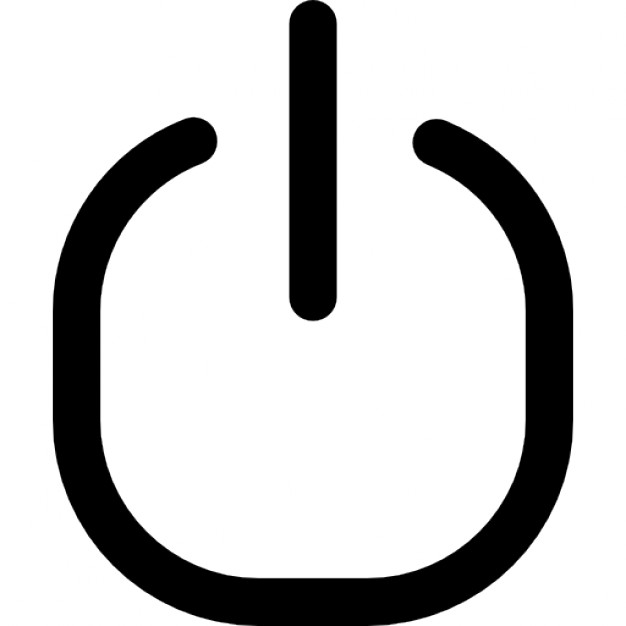 Shutdown Button clipart botton #5