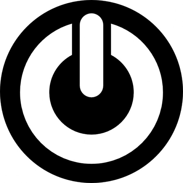 Shutdown Button clipart botton #2