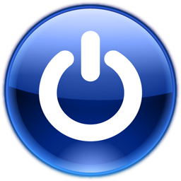 Shutdown Button clipart icon File:Crystal Shutdown Project png Commons