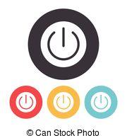Shutdown Button clipart login Button of icon Power