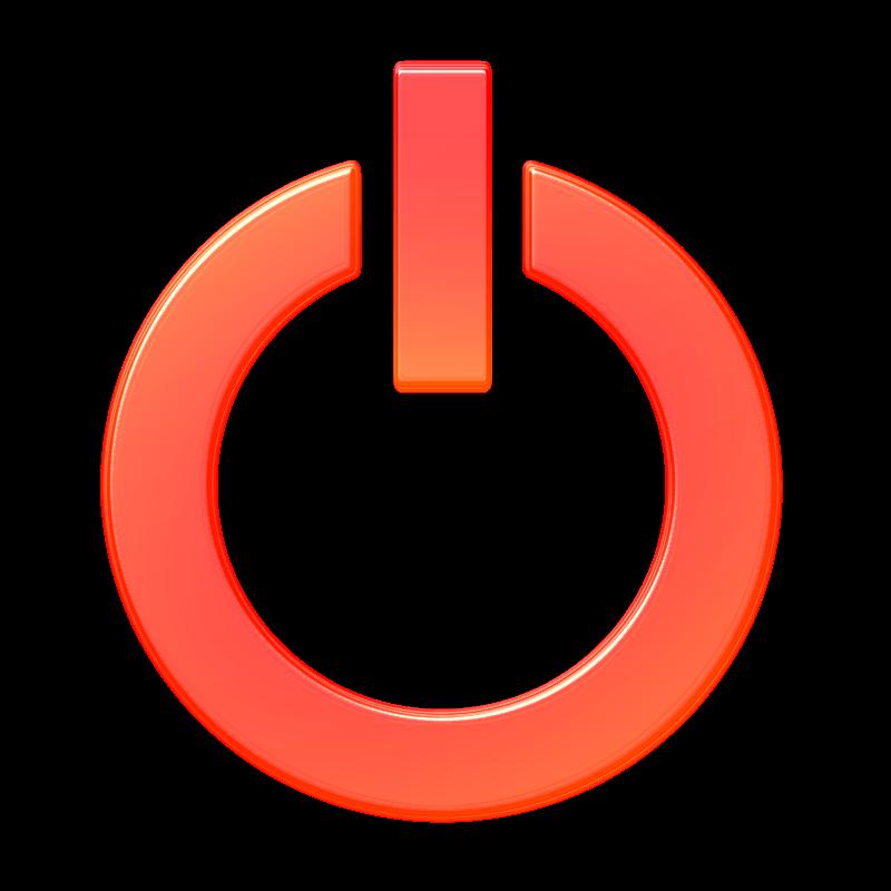 Shutdown Button clipart login Clipground Clipart Exit Shutdown clipart