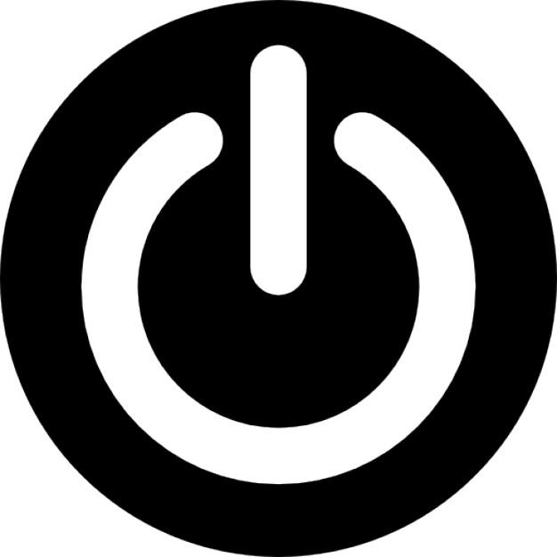 Shutdown Button clipart logo #7