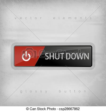 Shutdown Button clipart logo #10