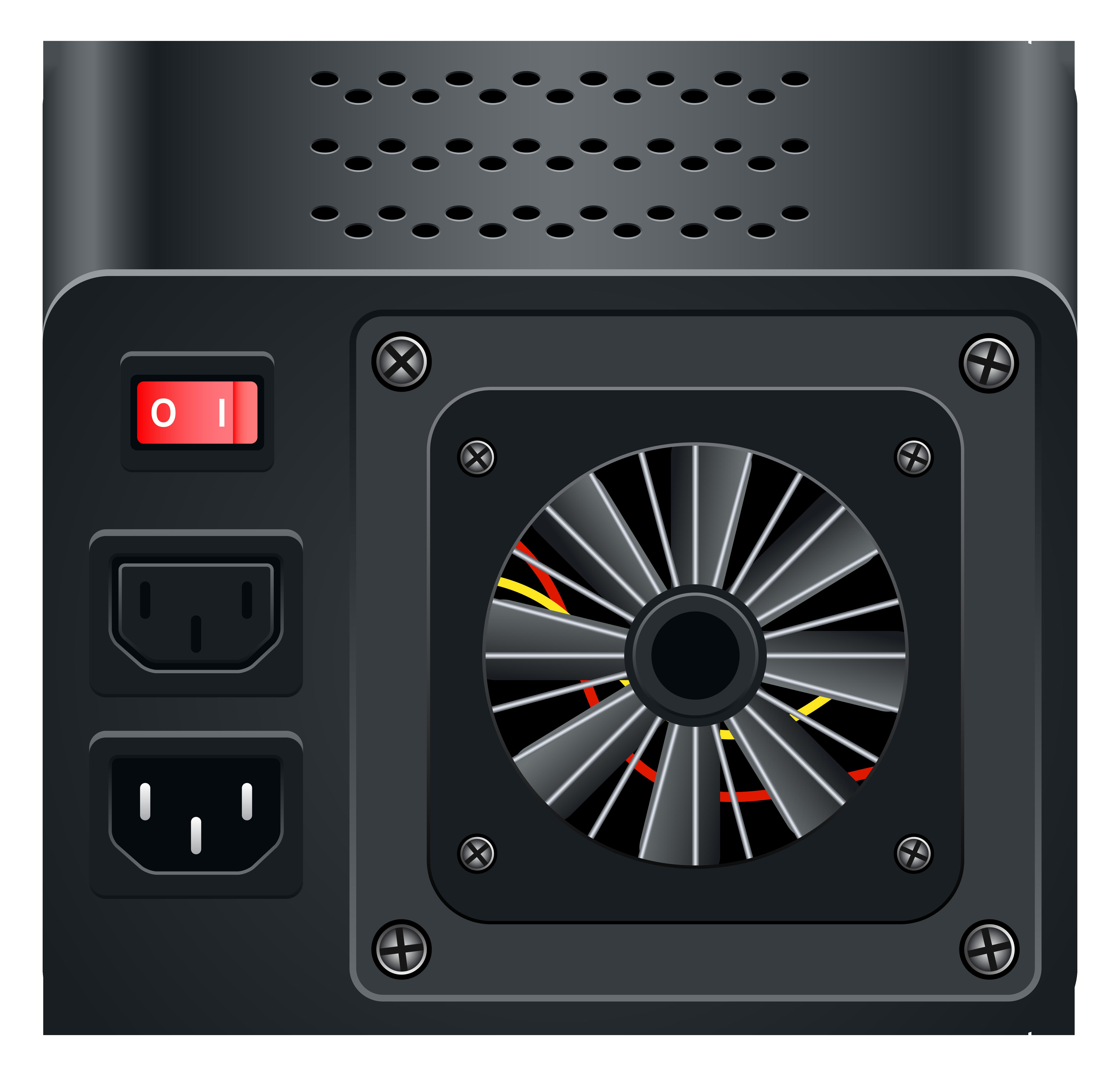 Shutdown Button clipart power supply #13