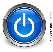 Shutdown Button clipart power supply #9
