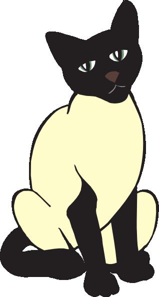 Siamese Cat clipart Siamese Cat drawings Cat #1