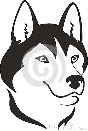 Siberian Husky clipart Clipart Download Siberian Siberian Clipart