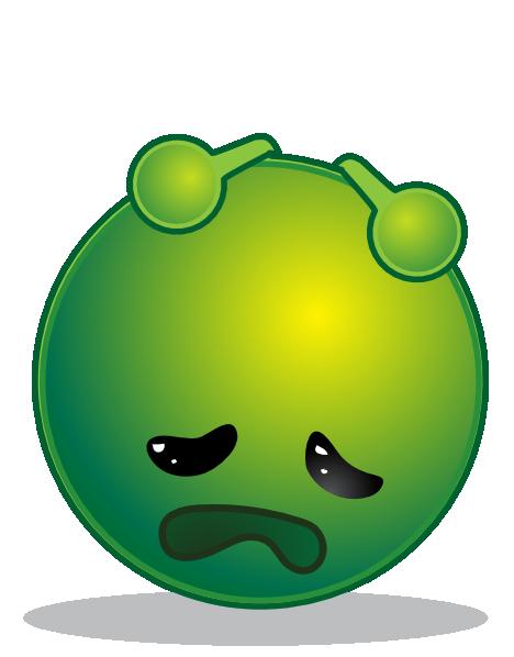 Alien clipart sad Depresive Alien Art at Smiley