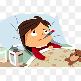Sick clipart bed rest Rest Sick free and rest
