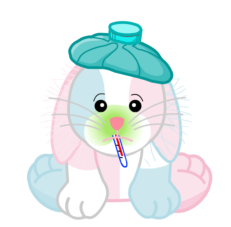 Sick clipart bunny Sick Webkinz File:Cotton Candy png