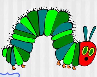 Sick clipart caterpillar On Free caterpillars Etsy Clip