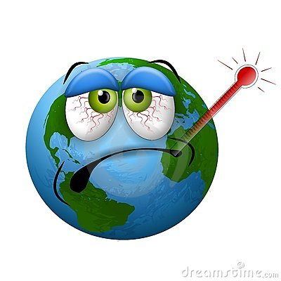 Sick clipart earth Thermometer Clipart Cartoon Sick Free
