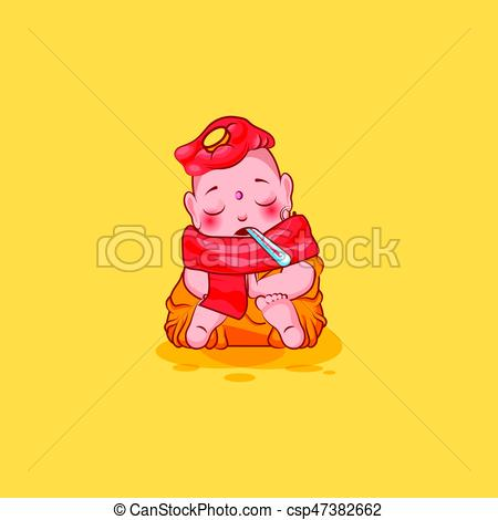 Sick clipart emotion Emoticon isolated csp47382662 emoji character