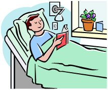 Bed clipart hospital In Hospital Patient Hospital Bed