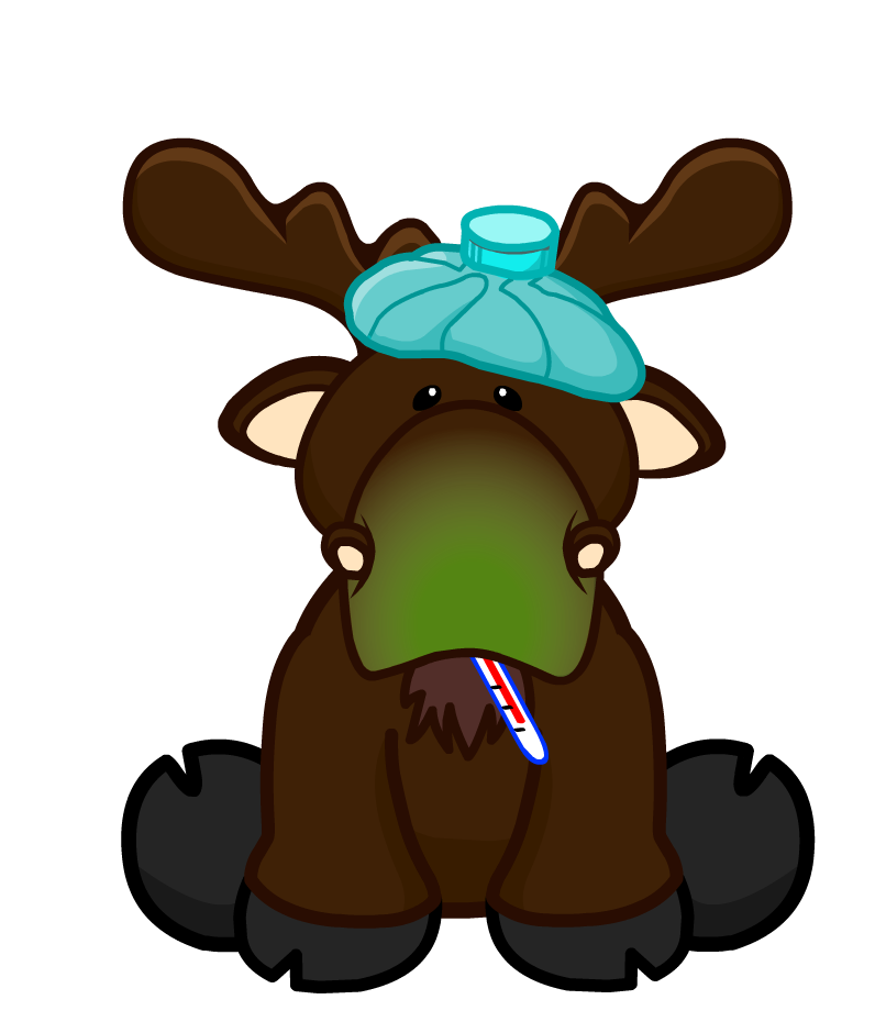Sick clipart moose Insider png Wiki Sick png
