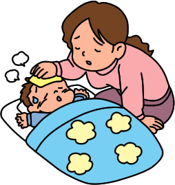 Mommy clipart sick For readers care mom what