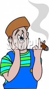 Cigar clipart lit Sick Smoking Free Royalty Free