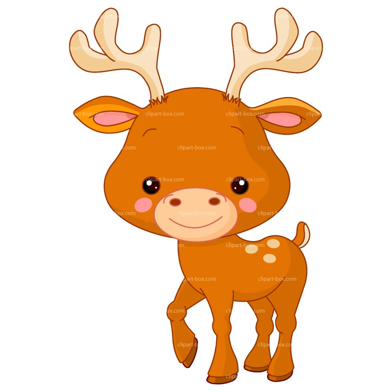 Animal clipart deer Cute com for clipart works