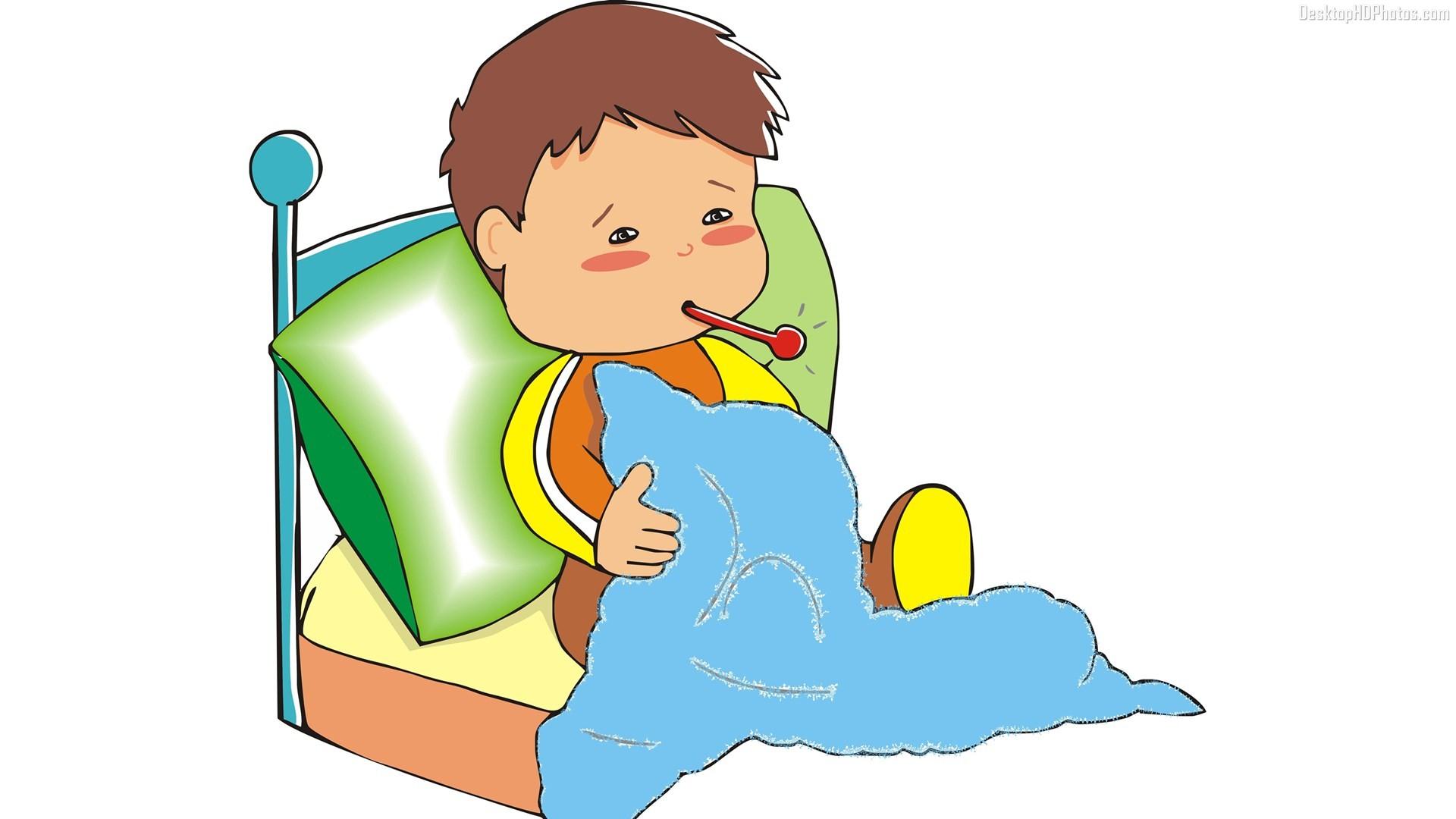 Sick clipart sick boy #2
