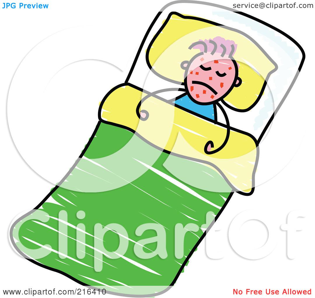 Sick clipart sick boy #7