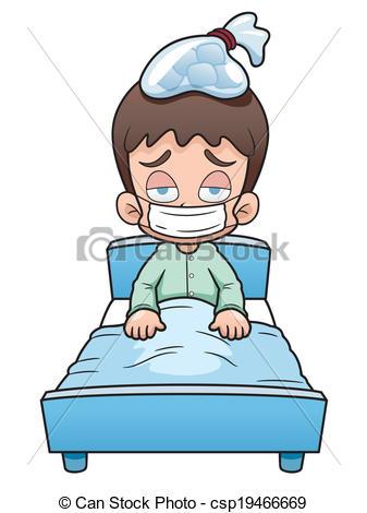 Sick clipart sick boy #8