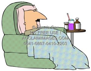Sick clipart sick man Clipart In Sick A Illustration: