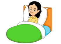 Bed clipart sick woman Panda Clipart Medical%20clipart Clip Cartoons