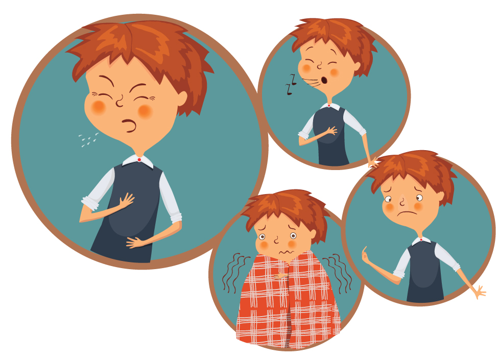 Sick clipart sickly child An or the Do Symptoms