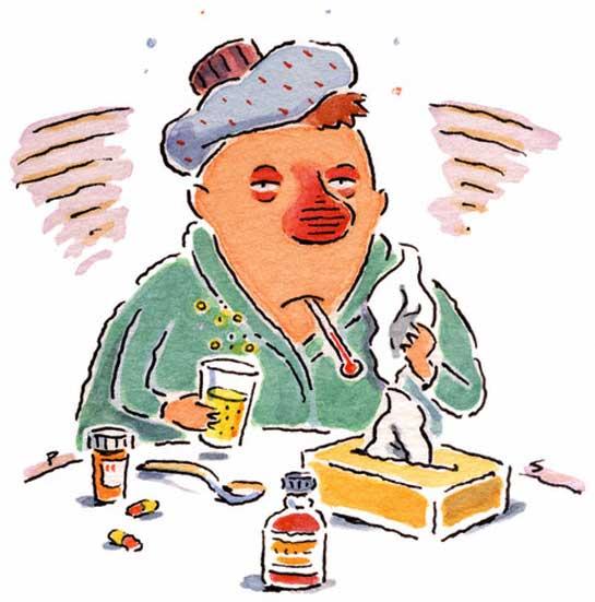 Sick clipart sickness #9