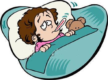 Sick clipart sickness #11
