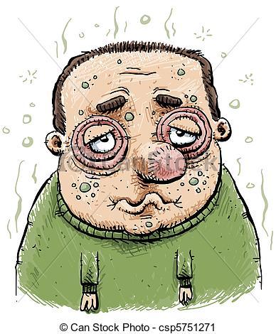 Sick clipart sickness #13