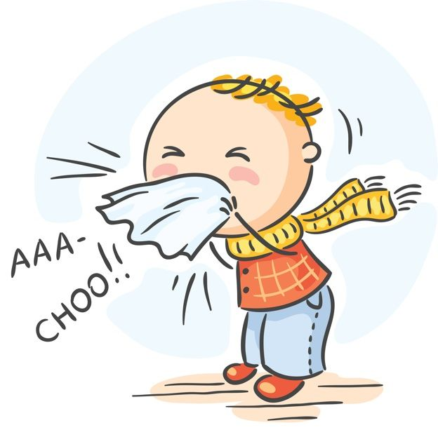 Sick clipart stuffy nose #7