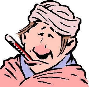 Sick clipart stuffy nose #4