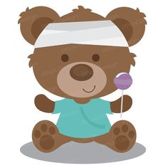 Sick clipart teddy bear Clipart file DOWNLOAD Get popsicle