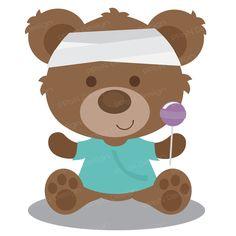 Teddy clipart sick SVG Soon clipart bear Clip
