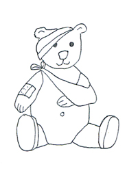 Teddy clipart sick Clipart teddy Images bear Medical