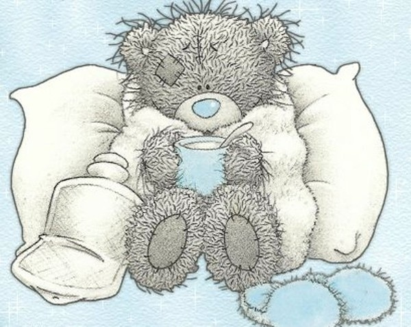 Sick clipart teddy bear And Clip about best Art
