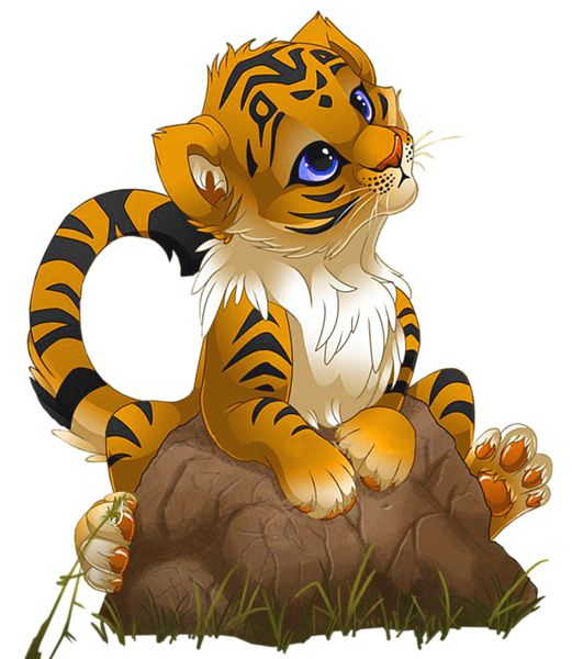 Big Cat clipart animated animal Best Little images ClipArt 348