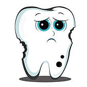 Decay clipart decayed tooth Tooth Royalty Tooth Clip tooth