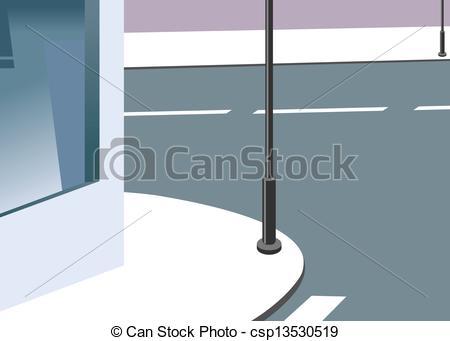Sidewalk clipart Clip Art illustration Vector a