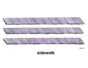 Sidewalk clipart Sidewalk clip Cliparts art Vectors