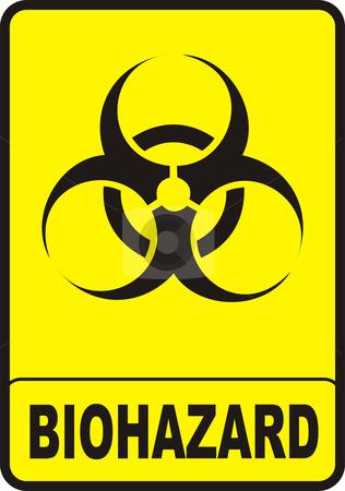 Biohazard clipart danger Sign Sign stock Biohazard vector